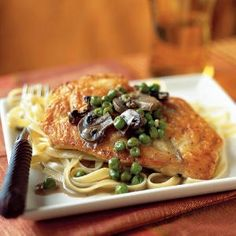 20 Top-Rated Chicken Recipes | Chicken Marsala | CookingLight.com recipes-and-food