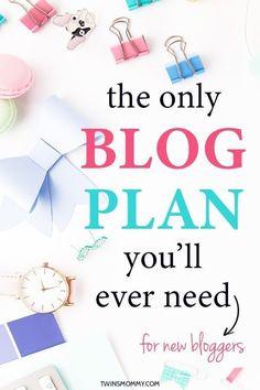 Blog planner ideas a