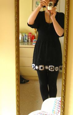 ao with <3 / Bunny Mummy: 2011 Crochet Collection-Cute idea-granny square trim