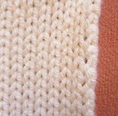Randmasche ordentlich stricken - Tichiro