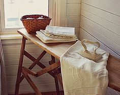 Ironing board table