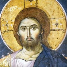 Synaxis Study Group: The Feast of Saint Antony the Great Byzantine Art, Byzantine Icons, Religious Images, Religious Art, Fresco, Saint Antony, Greek Icons, Religious Paintings, Best Icons
