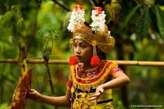 Young Bali Dancing Girl - Many Places, Around The World - Daily Travel Photos