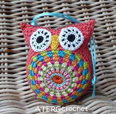 Lovely cuddly crochet owl by ATERGcrochet
