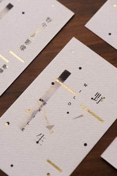Wild Exile Image 野生影像 on Behance business card design