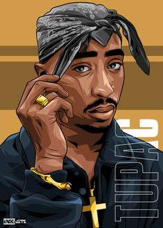 Arte Do Hip Hop, Hip Hop Art, Tupac Wallpaper, Cartoon Wallpaper, Arte Cholo, Tupac Art, Tupac Pictures, Rapper Art, Anime Rapper
