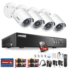 d72059de5d5 Discounted Luowice Audio Wireless Security Camera System with 11 ...