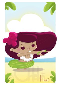 Hawaian girl