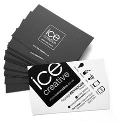 Our new business cards arrived today! We've re-branded ICE Creative for our brand new move! Watch this space as we roll it out across all of our stationery.  If you're looking to re-brand your company, give us a call on 01962 869866 Ice Creative - Design, Web, Digital www.icecreative.co.uk