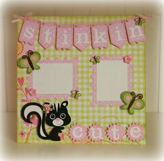 Tracy's Cricut Corner...could be done with SU Stinkin Cute Stamps?