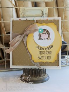 Hey There Sweetie Pie - StampinByTheSea.com Sweetie Pie stamp set, stampin up Kimberly Van Diepen