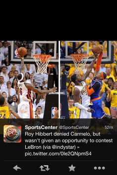 Certainly the big fella (Roy Hibbert) must be in to protect the rim!