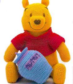 Crochet Winnie the Pooh -free crochet pattern | Free knitting patterns