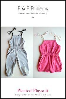 Elegance & Elephants - jumpsuit pattern free