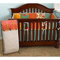 Found it at Wayfair - Cotton Tale Gypsy 4 Piece Crib Bedding Set Girl Nursery Bedding, Girls Bedding Sets, Crib Sets, Crib Bedding Sets, Bedding Shop, Comforters, Best Crib, Baby Cribs, Gypsy