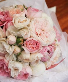 Peony, rose pastel bouquet.                            This is the one that I like the most.....