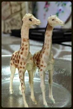 Toy animal giraffe