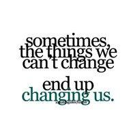 change. it happens.