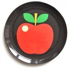 Melamintallrik Äpple