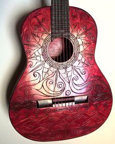 Arte na Viola - Blood Acoustic by gdsfgs.deviantart.com on @DeviantArt