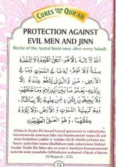 Dua for protection against evil men and jinn Islamic Prayer, Islamic Teachings, Islamic Dua, Prayer Verses, Quran Verses, Quran Quotes Inspirational, Faith Quotes, Ayatul Kursi, Muslim Quotes