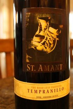2008 St. Amant Amador County Tempranillo - Made In The U.S.A. $16, read the rest...