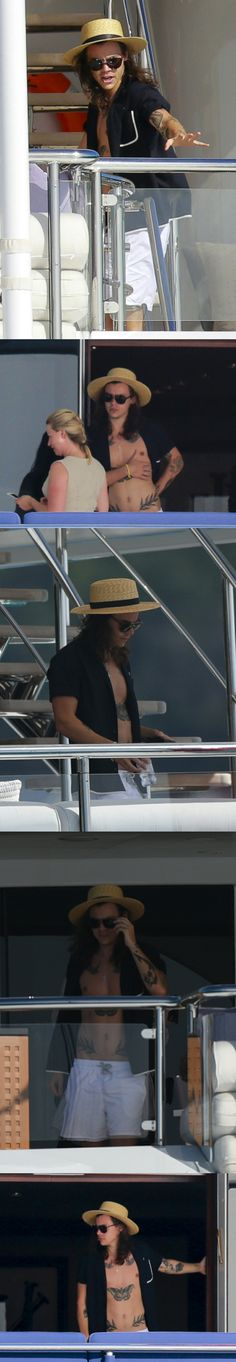 Harry Styles at St Barts