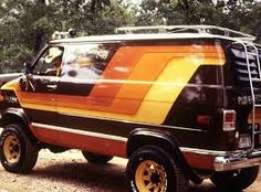 Image Result For Late 70s Lifted Conversion Van