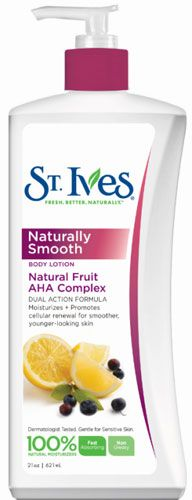 Post-Summer Skin Healing with St. Ives Naturally Smooth