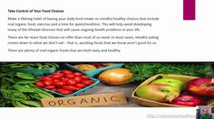 Healthy Mind, Body and Spirit With A Real Food Diet