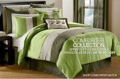 Save up to 60% on comforter collection order at #BrylaneHome.