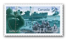 2005 Canada Post - Battle of the Atlantic:   Vivid period photographs show the Battle of the Atlantic, the longest battle at sea during the Second World War.