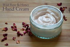 DIY: wild rose & honey hand cream