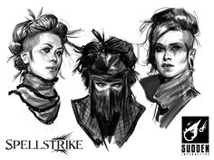ArtStation - SpellStrike ( Visual Development ), John Grello