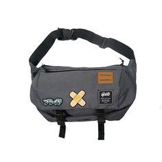 Sfkauto Messenger Bag (Grey)  Material : Cordura Embroidery Patch Webbing  IDR : Rp 250.000 - $ 20  Contact: 085721130293 line:sfkauto pin:5F0CC6E4 email: sfk.auto@gmail.com  Available at SFK Store, Rangga Point (Jl. Ranggamalela no.13)  Bandung, Indonesia