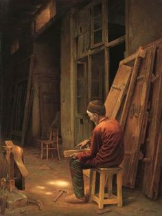 Iman Maleki 1976   Iranian Realist painter
