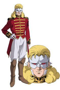 フル・フロンタル|機動戦士ガンダムユニコーン RE:0096 Gundam Wing, Gundam Art, Character Art, Character Design, Like A Lion, Wars Of The Roses, Mobile Suit, Manga Anime, Unicorn