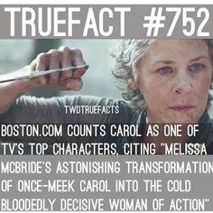 Carol. the Walking Dead