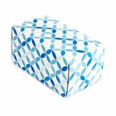 Caja con solapas 16x8x8cm - Blue
