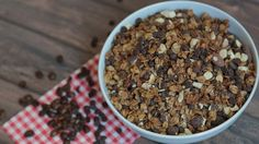 Homemade Granola 3 Delicious Ways Great Recipes, Snack Recipes, Snacks, Domestic Geek, Sweet Spice, Healthy Sweets, Healthy Eating, What's For Breakfast, Toasted Almonds