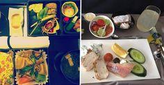 13 deliciosas comidas de avión que justifican 100% esas largas horas de vuelo. #EstudiaenelExtranjero