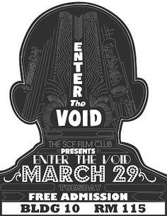B9 Design: SCF: Enter the void poster