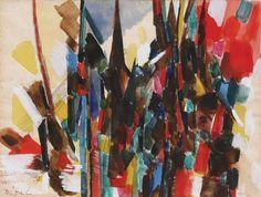 Nejat Devrim - Abstract composition