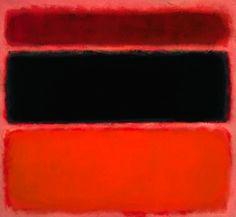 Mark Rothko: Red and Black #36 1958
