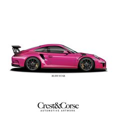 Ruby star. Available at CrestAndCorse.com as part of the pts collection print.  Link in profile  #porsche #911 #porsche911 #991 #gt3 #911gt3 #gt3rs #991gt3 #911gt3rs #rs #gt3 #porschegt3 #991911 #automotiveart #illustration #carart #rubystar #pts #painttosample #pts911 #ptsrs #918 #porscheart #porschefans #porschemotorsport #motorsport #carart #automotiveart