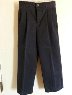 Izod Boys Pants Navy Size 8 slim Style #9151