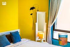 Si eres amante del amarillo intenso, pregunta por la gama de colores que ofrece Vinimex. ¡Te encantará!  #ProductosComex #Energia #Intensidad #Alegria #House #Inspiración #Ideas #Lifestyle #Deco #Home #Interior #Room #Comex