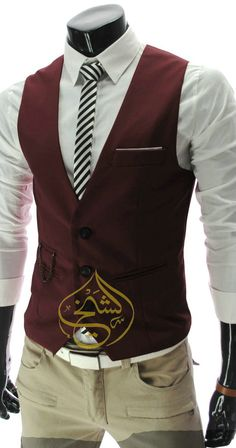 formal shirt with waist coat.
