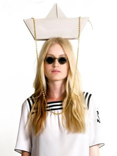 Moschino Cheap and Chic S/S13: let's sail away! ♥  LOVE IT SO MUCH!!! <3