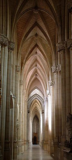 Soaring arches, Downside abbey, somerset by archidave on Flickr.